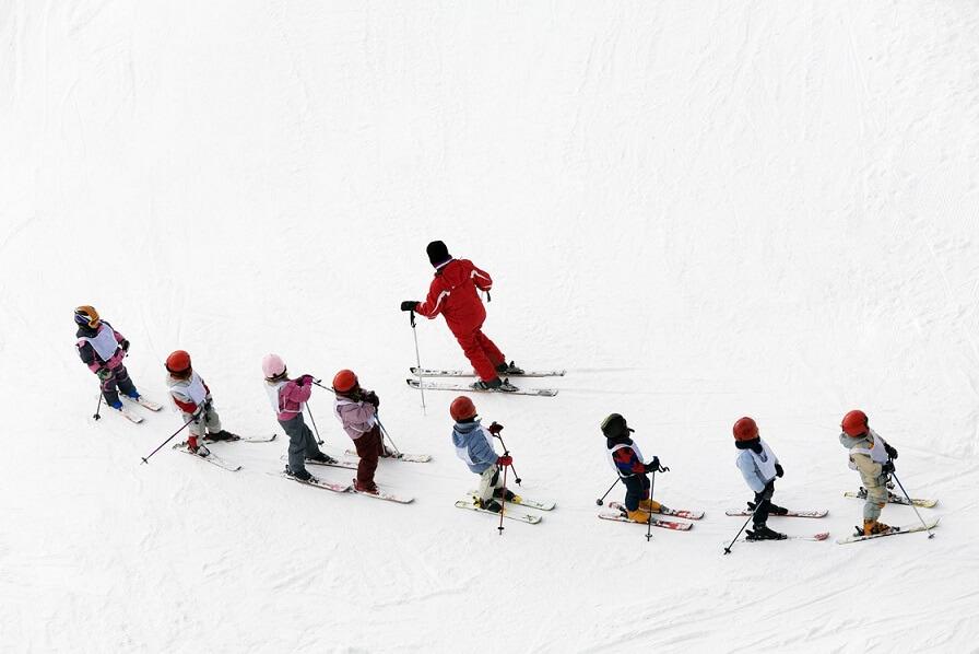 Гірські лижі: діти
