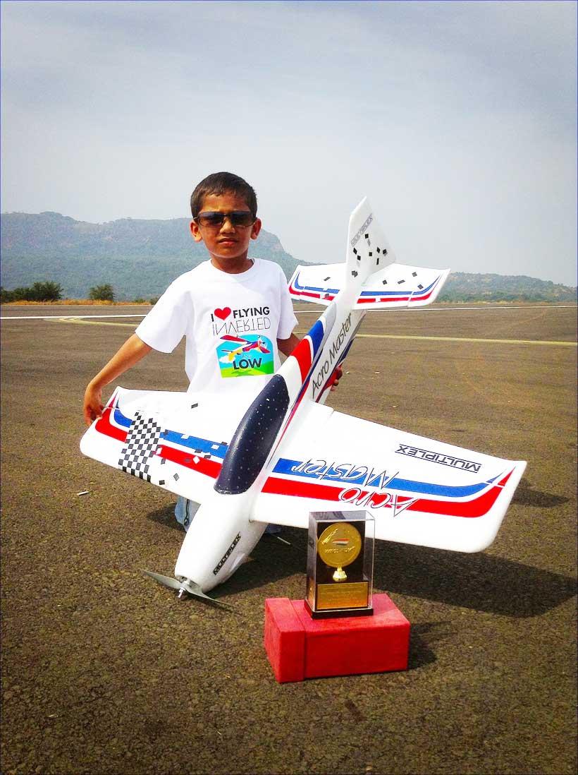 Авіамоделювання: діти